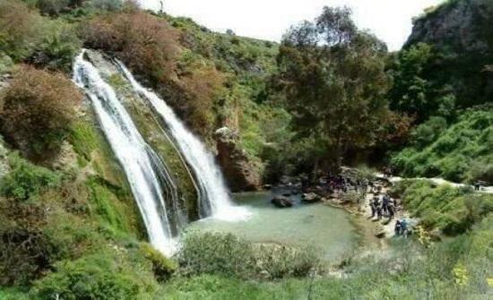 عجلون شلالات وادي راجب وجهة سياحية تجذب آلاف الزوار