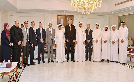 نائب رئيس غرفة قطر يشيد بالكفاءات الأردنية العاملة في السوق القطرية