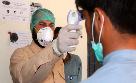 باكستان تسجل 553 إصابة جديدة بكورونا