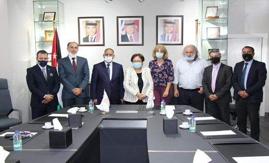 توقيع مذكرة تفاهم بين الجامعة الألمانية الأردنية وشركة المدن الصناعية
