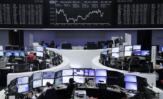 الأسهم الأوروبية ترتفع بفضل بيانات ألمانية إيجابية وإيرباص