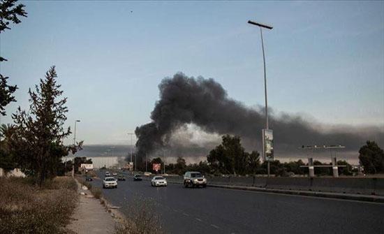 طرابلس.. مقتل مدني بانفجار لغم زرعته مليشيا حفتر