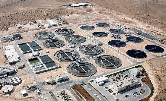محطة السمرا : لم يتم تحويل مياه الصرف الصحي الى سيل الزرقاء