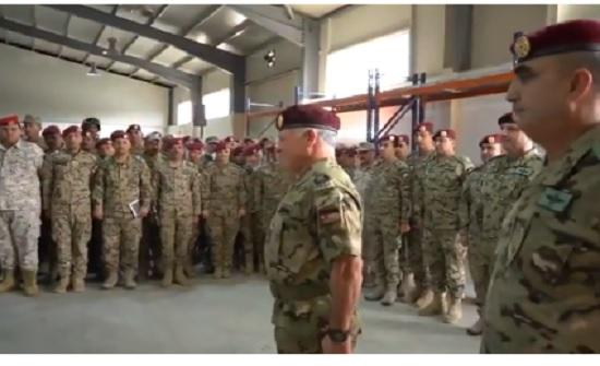 بالفيديو : الملك في الجيش
