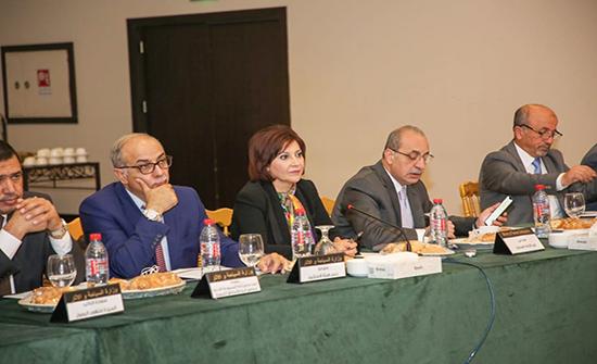 اللجنة الوزارية لإعداد وتنفيذ المخطط الشمولي لعجلون تناقش خطة المشاريع ذات الاولوية للمحافظة