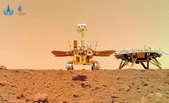 الصين ترفع علمها على المريخ