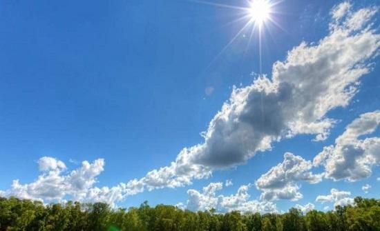 الاثنين : طقس ربيعي و ارتفاع على درجات الحرارة