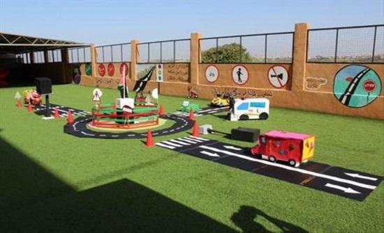 افتتاح حديقة مرورية في إربد
