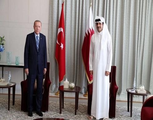 أردوغان يصل الدوحة في أول زيارة خارجية منذ تفشي كورونا