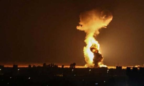 """المرصد السوري: """"إسرائيل"""" استهدفت الأراضي السورية 40 مرة خلال 2020"""