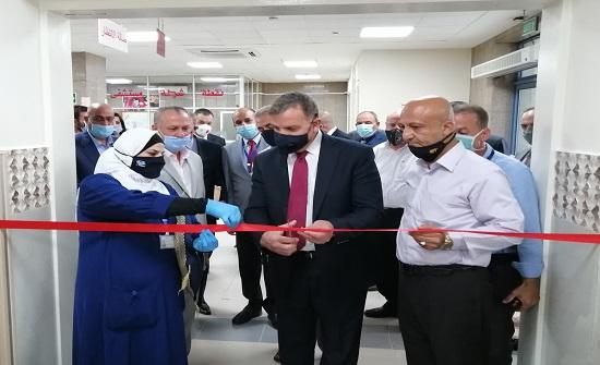افتتاح قسمي العناية الحثيثة والعمليات الجديد بمستشفى حمزة