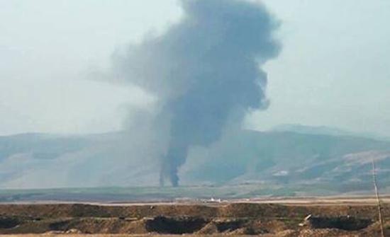 سقوط 20 قذيفة هاون على قرية إيرانية قرب الحدود مع قره باغ .. بالفيديو