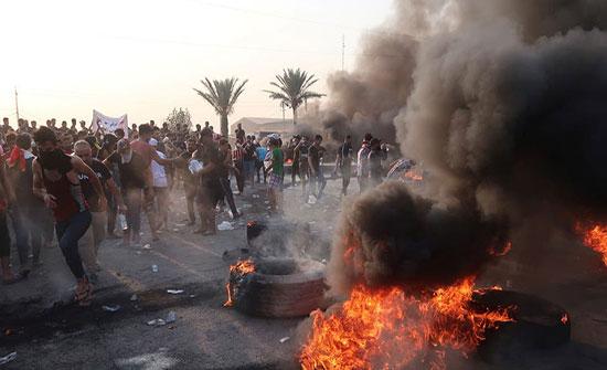 العراق: ارتفاع عدد قتلى التظاهرات إلى 31  شخصا