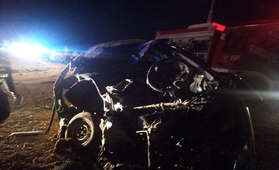 إصابة شخصين بحادث تصادم في معان