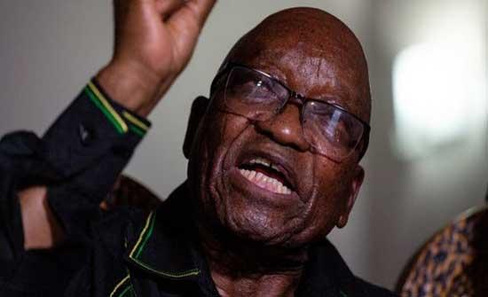 جنوب أفريقيا: الرئيس السابق جاكوب زوما يرفض تسليم نفسه إلى القضاء