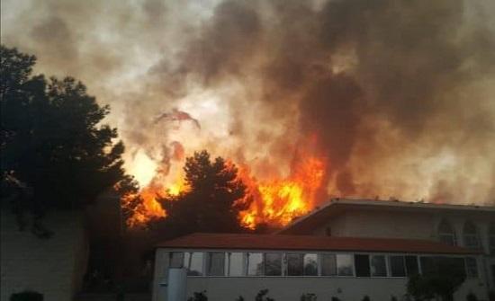 الأردن ابدى استعداده لمساعدة لبنان في اخماد الحرائق