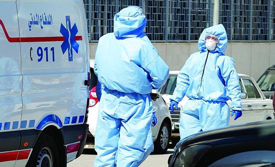 تسجيل 1623اصابة جديدة بفيروس كورونا
