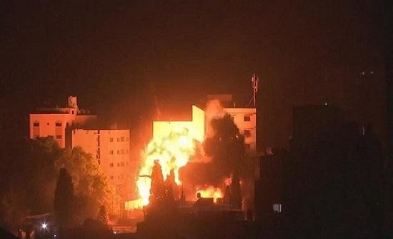 الاحتلال الإسرائيلي يقصف 15 موقعا للمقاومة في غزة