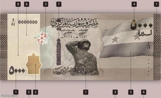 سوريا تطرح أكبر ورقة نقدية في تاريخها