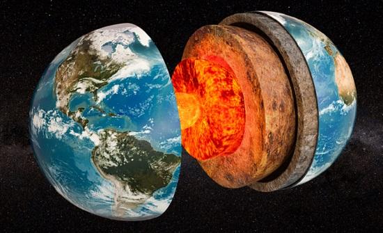 اكتشاف جديد يناقض ما هو متعارف عليه علميا حول اللب الداخلي لكوكبنا