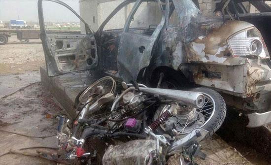 بالفيديو : مقتل مدني وجرح 11 آخرين في انفجار دراجة مفخخة شمالي سوريا