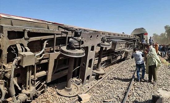 مصر: إصابة 97 شخصاً في حادث قطار بالقليوبية