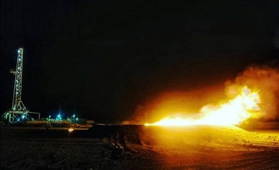 البترول الوطنية: القدرة الانتاجية لبئر الريشة تقدر بـ8 ملايين قدم يوميا