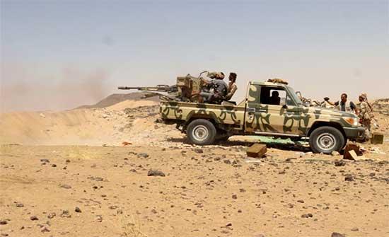 مقتل 20 حوثيا في معارك مع الجيش اليمني في مأرب والبيضاء والجوف