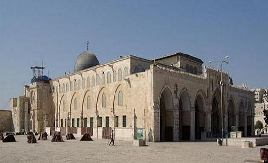 إغلاق المسجد الأقصى  بسبب كورونا..فيديو