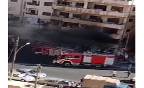 حريق مخبز في عمان