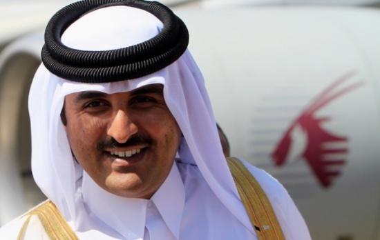 الملك يجري اتصالا هاتفيا مع أمير دولة قطر