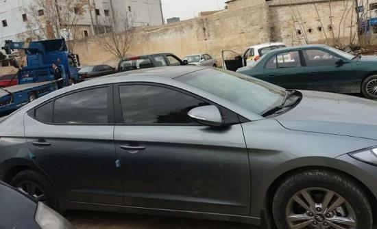 هذه السيارة لمنفذ السطو المسلح على البنك العربي ...