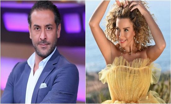 """دانا حلبي تعلن ارتباطها بـ """"عبد المنعم عمايري"""" رسميا"""