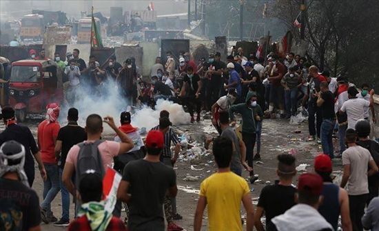 بالفيديو : العراق.. 23 قتيلا حصيلة الأيام الـ5 الأخيرة من الاحتجاجات