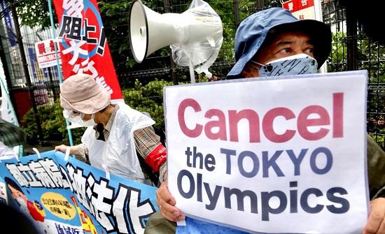 اليابانيون يتظاهرون ضد أولمبياد طوكيو