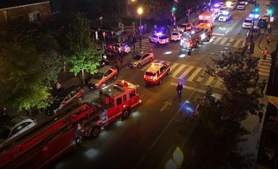 شاهد : إطلاق نار عشوائي في واشنطن ومقتل شخص واصابة 5 اخرون
