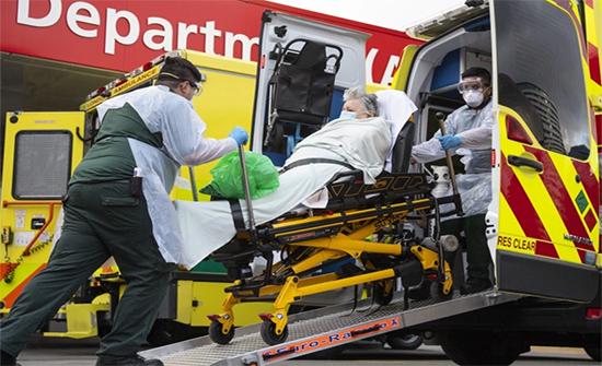 بريطانيا :529 وفاة و 46169 إصابة بكورونا