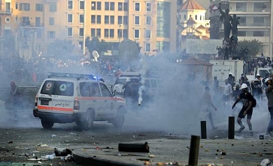الجيش اللبناني: جرح 105 جنود بينهم 8 ضباط بمواجهات أمس