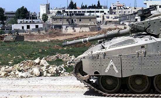 توغل محدود لآليات عسكرية إسرائيلية شرقي غزة