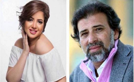 بطلة الفيلم المخل مع خالد يوسف توجه رسالة مؤثرة لوالدتها