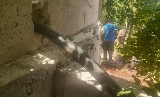ضبط اعتداءات على المياه في عين الباشا