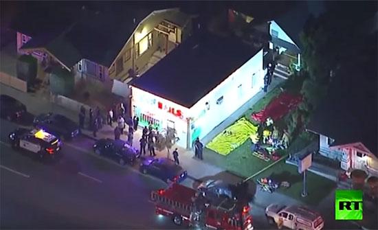 بالفيديو : مقتل 3 أشخاص في إطلاق نار بولاية كاليفورنيا الأمريكية