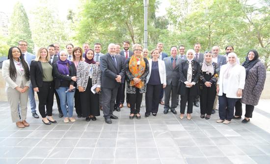 وفد من جامعة زيورخ للعلوم التطبيقية يزور أمانة عمان