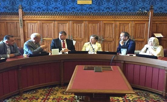 """""""فلسطين النيابية"""" تدعو بمجلس العموم البريطاني لدعم القضية الفلسطينية"""
