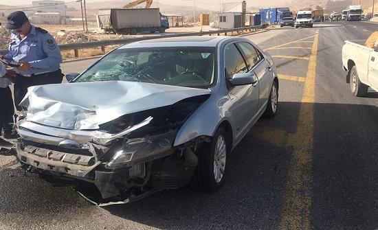 صور :4 اصابات بليغة إثر حادث تصادم نهاية شارع الـ 100