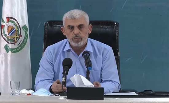 السنوار: ننذر الاحتلال بأن قرار زواله مرهون بالمس بالقدس والأقصى .. بالفيديو