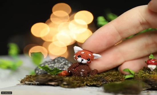 صور : روسية تبدع في صناعة حيوانات صغيرة محشوة كروشيه