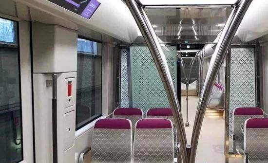 شاهد: تواصل الرحلات التجريبية للتأكد من جاهزية عربات قطار الرياض