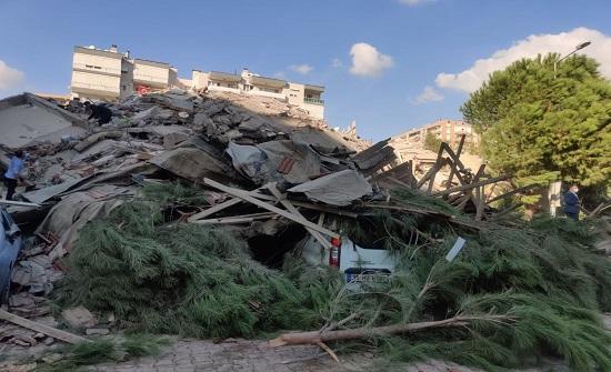 فيديوهات  وصور جديدة للمناطق المنكوبة من زلزال إزمير