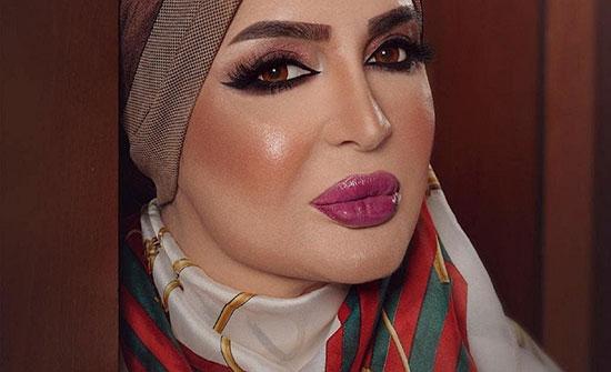"""بالفيديو : فنانة خليجية  بدرية أحمد تثير الجدل باستعراض ساقها و""""دلعها"""" مع شاب"""